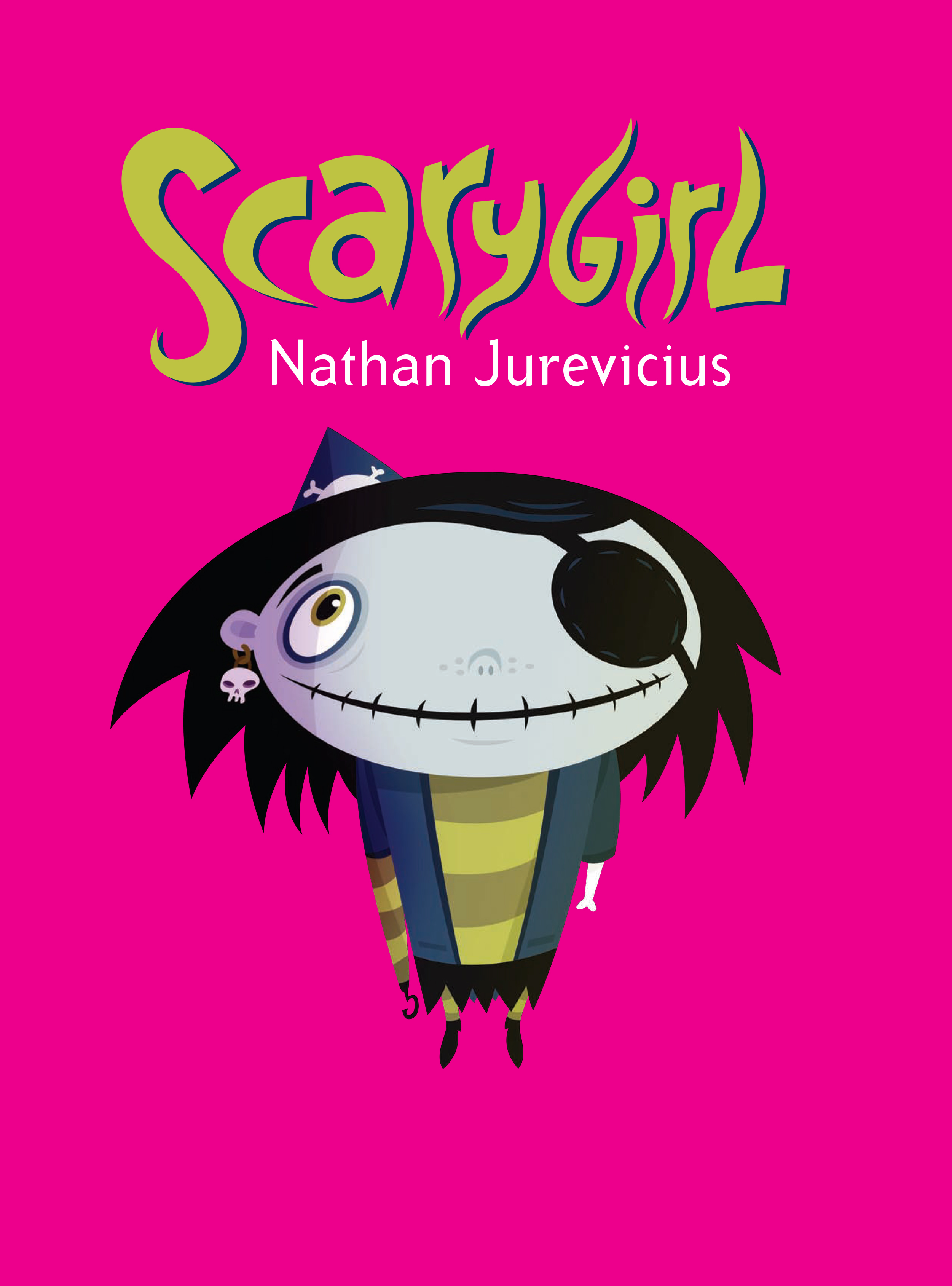 Scarygirl Book Cover 2