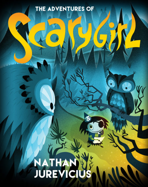 Scarygirl Book Cover 1